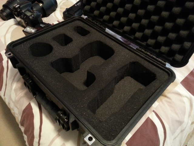 Custom Pelican Case Foam Insert
